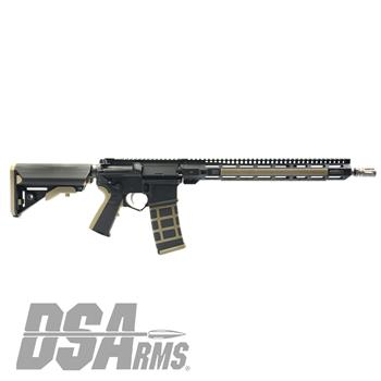 "DSArms AR15 ZM4 16"" WarZ Series 5.56 Rifle - Titanium Edition"