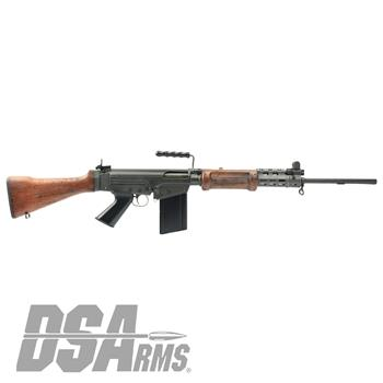 "NO NEW ORDERS  -  DSA SA58 FAL 21"" Israeli Light Barrel Rifle - Soldier Grade Battle Worn Hebrew War Hammer"