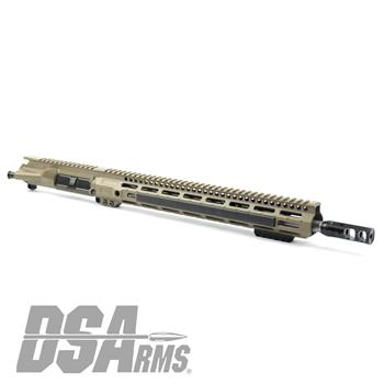 "DS Arms WarZ Series 16"" AR15 5.56x45mm Custom FDE Upper Receiver Assembly"