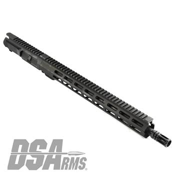 "DSA ZM4 AR15 Slim Series 5.56 NATO Upper Receiver Assembly - 16"" Mid-Length Barrel"