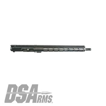 "DSA ZM4 AR15 Slim Series 5.56 NATO Upper Receiver Assembly - 16"" Mid-Length Stainless Steel Barrel"