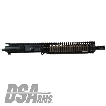 "DS Arms AR15 MK18 Mod 1 10.3"" 5.56x45mm Service Series Upper Receiver Assembly - FDE Handguard"